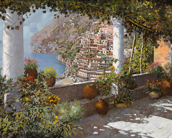 Guido Borelli, Gli Orti Sul Terrazzo
