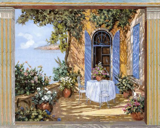 Guido Borelli, Le Porte Blu