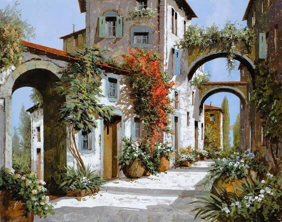 Guido Borelli, Porta Rossa Porta Blu