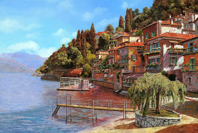 Guido Borelli, Varenna On Lake Como