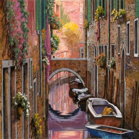Guido Borelli, Venezia e la Mimosa