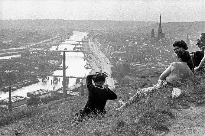 Henri Cartier-Bresson, Fransa, Normandiya, 1955