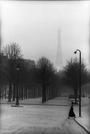 Henri Cartier-Bresson, Fransa, Paris, 1954