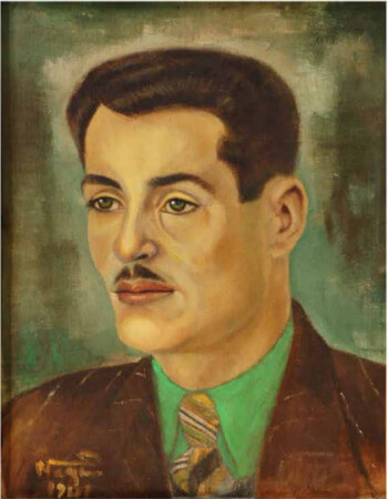 Nazım Hikmetin Fircasindan Balaban Portresi, 1941