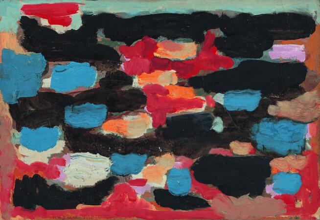 Nejad Melih Devrim, Abstrait, 1960