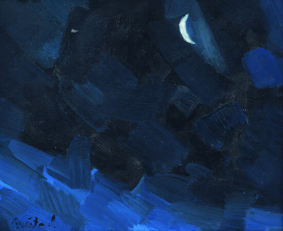 Nejad Melih Devrim, La Nuit, 1958