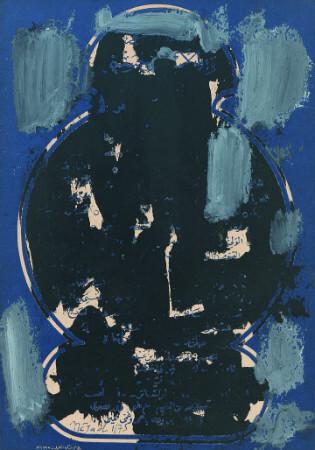 Nejad Melih Devrim, Soyut Kompozisyon, 1975