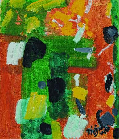 Nejad Melih Devrim, Soyut Kompozisyon, 1989