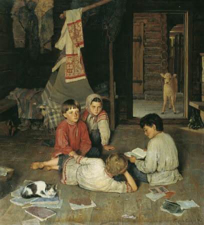 Nikolay Bogdanov-Belsky, New Fairy Tale