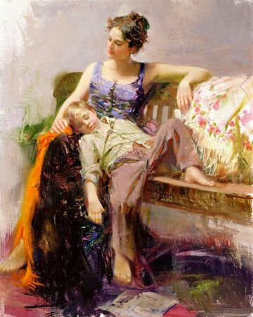 Pino Daeni, Afternoon Nap