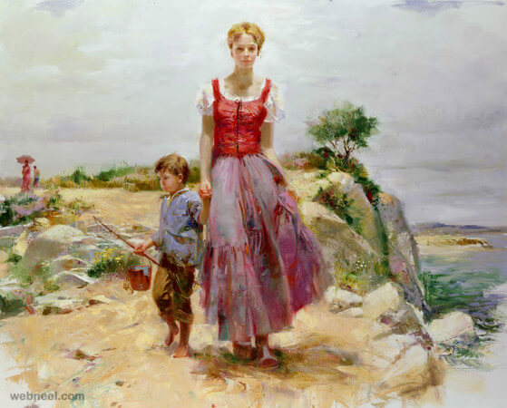 Pino Daeni, Cliffside Retreat