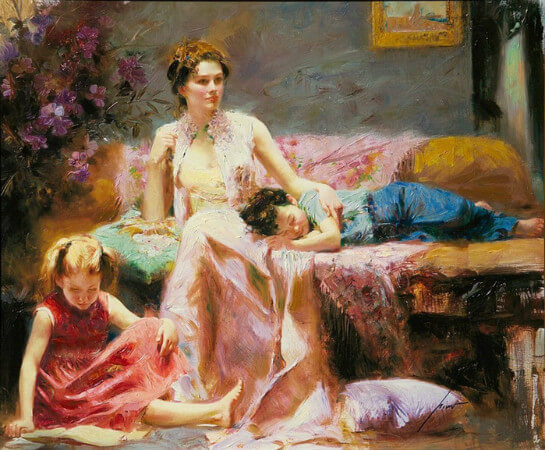 Pino Daeni, Reflections Of The Heart
