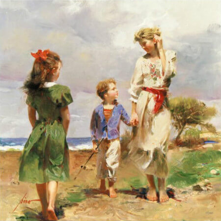 Pino Daeni, Seaside Retreat