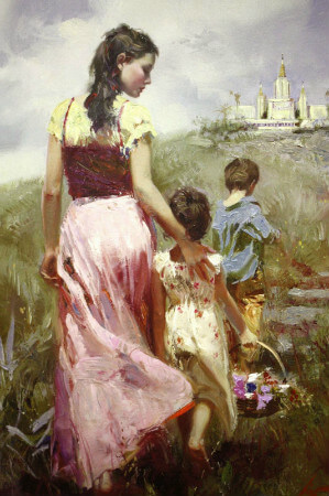 Pino Daeni, Seaside Walk