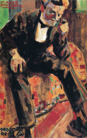 Portrait Of Pierre Bourgeois, 1920
