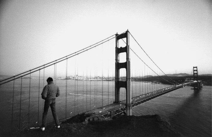 Raymond Depardon, ABD, San Francisco, Golden Gate, 1982