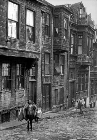 Rene Burri, istanbul, 1957