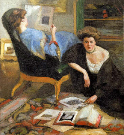 Robert Breyer, Women Reading, 1909