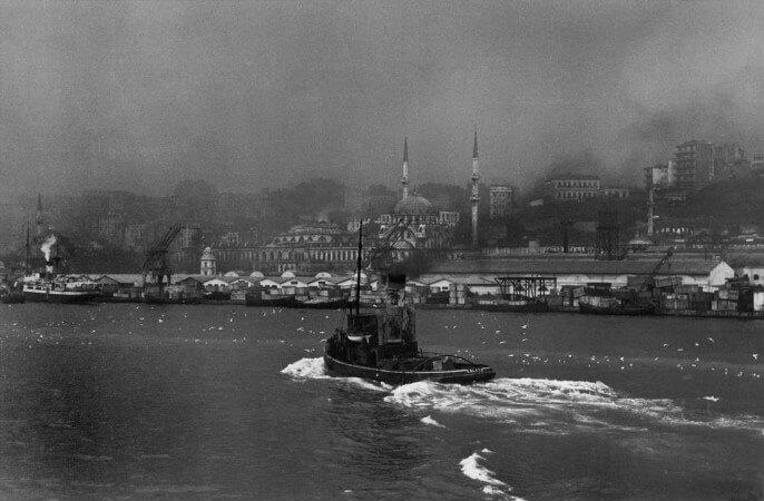 Robert Capa, İstanbul, 1946