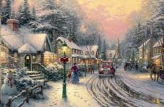 Thomas Kinkade, Village Christmas