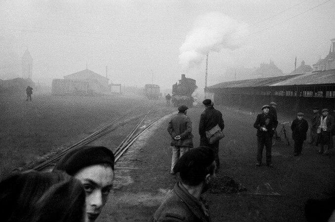 Werner Bischof, Fransa, 1945