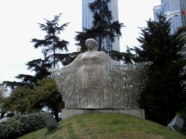 ilhan koman, akdeniz heykeli