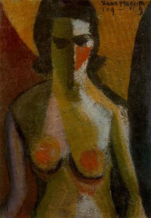 nude, 1919