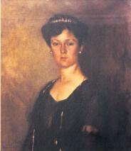 Abbas Hilmi Pasanin Kizinin Portresi, 1910