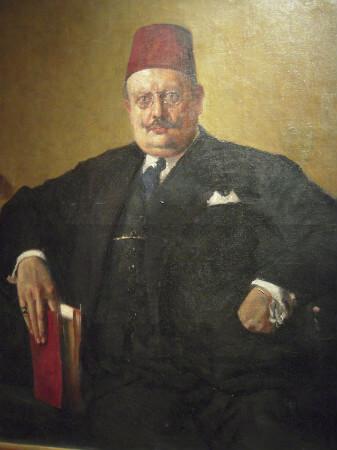 Celaleddin Arif Bey Portresi, 1907