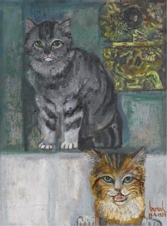 Cihat Burak, Kediler