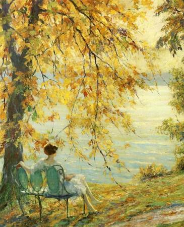 Edward Cucuel, Sunny Spring Morning