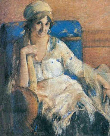 Guzin Duranin Portresi, 1921