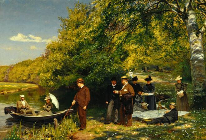 Hans Andersen Brendekilde, Fishing Villages and Search