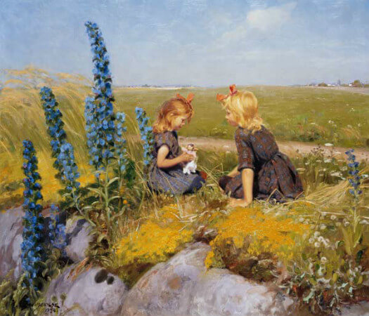 Hans Andersen Brendekilde, The New Doll