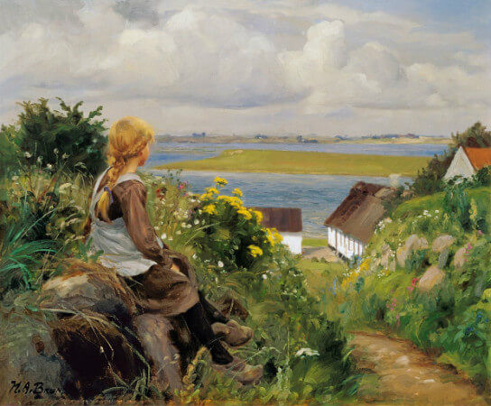 Hans Andersen Brendekilde, in Thought