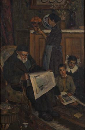 Hattat Rifat Efendi ve Ailesi, 1948