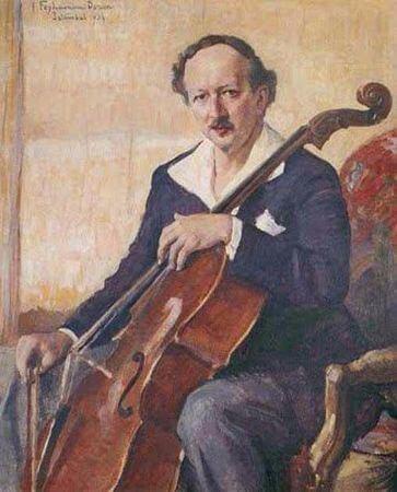 Serif Muhiddin Targan Portresi, 1934