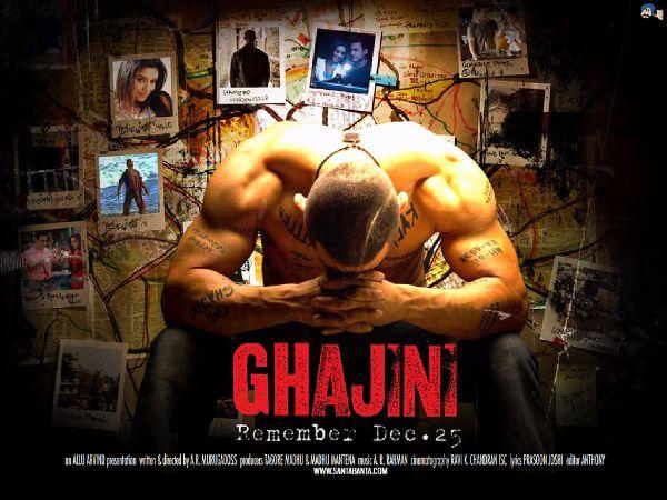 aamir khan - ghajini