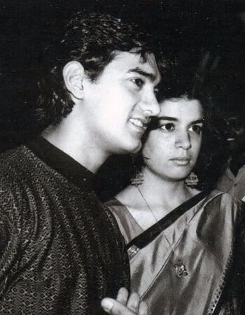 aamir khan ve ilk esi