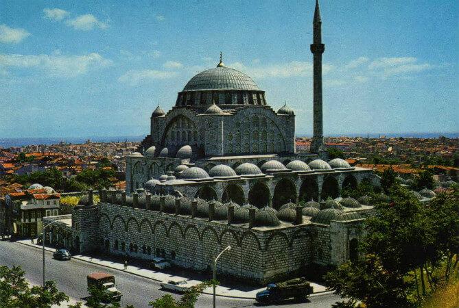 mihrimah sultan camii edirnekapi