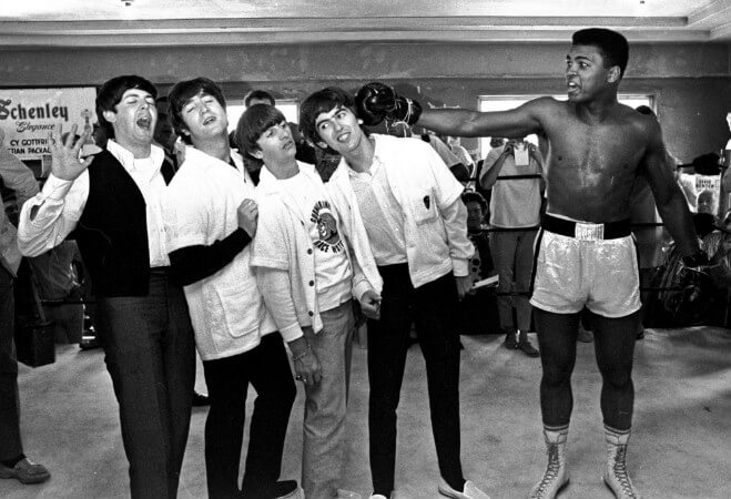 muhammed ali ve beatles