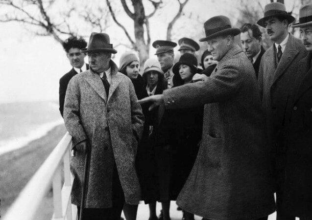 mustafa kemal, yalova, 1930