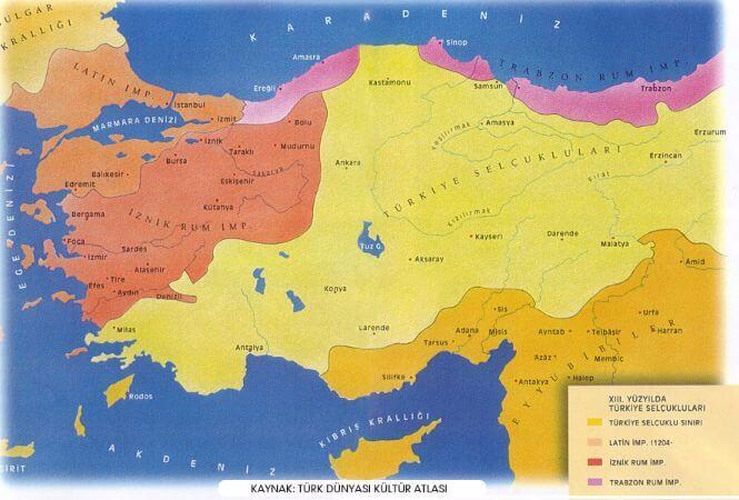 turkiye selcuklulari