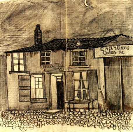 van gogh, au charbonnage cafe, 1878