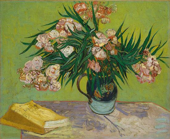 van gogh, oleanders, 1888