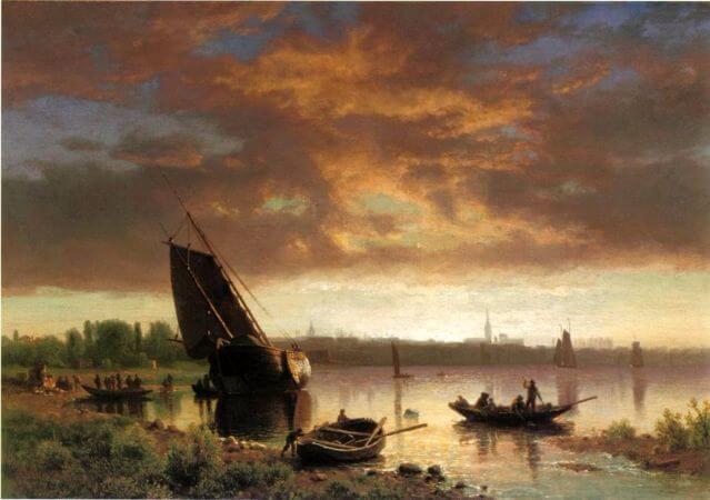 Albert Bierstadt, Harper Scene, 1869