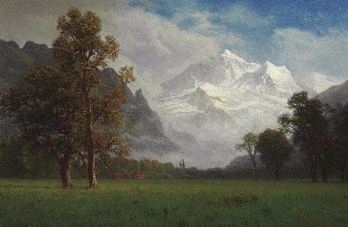 Albert Bierstadt, Jungfrau