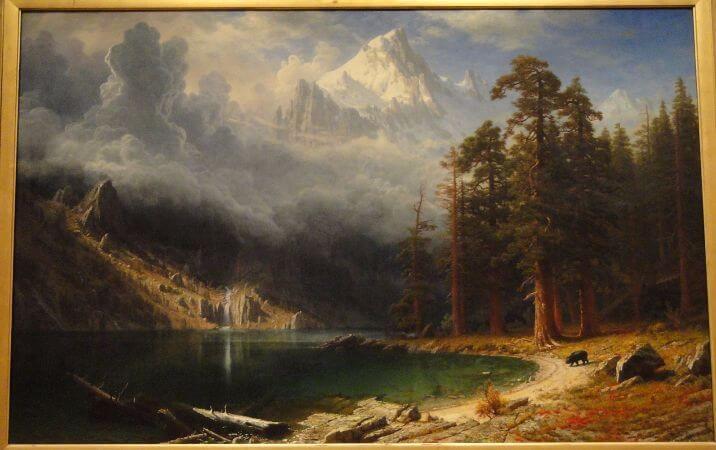 Albert Bierstadt, Mount Corcoran, 1877