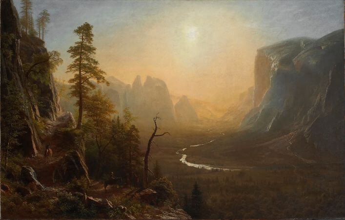 Albert Bierstadt, Yosemite Valley, 1873