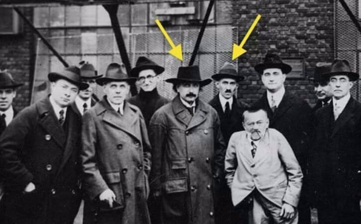 Albert Einstein, Nikola Tesla, Charles Steinmetz, 1921